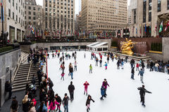 The Rink (New York City) Stock Photo