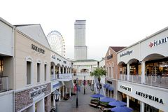 Rinku Premium Outlet Mall Stock Photos