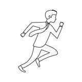 rinnande avatarsymbol för businessperson vektor illustrationer