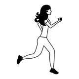 rinnande avatarsymbol för businessperson stock illustrationer