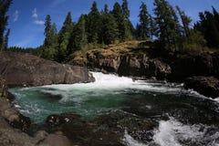 Rinnande flod Arkivbilder