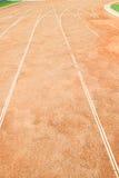 Rinnande grändsport Royaltyfri Foto