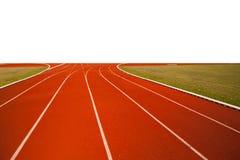 Rinnande spår för populär sport, Arkivbild
