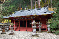 Rinno-ji Buddhist temple in Nikko Stock Photography