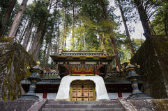 Rinno-ji Buddhist temple in Nikko, Japan. Famous UNESCO world heritage Royalty Free Stock Photos