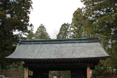 The Rinnoji Temple Gate Royalty Free Stock Images