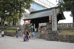 The Rinnoji Temple in Nikko. Rinnoji Temple , one of Japan World Heritage site Stock Image
