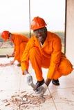 Rinnovamenti della costruzione del costruttore Immagini Stock Libere da Diritti