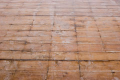 Rinnovamenti - pavimento del cedro Immagini Stock