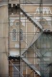 Rinnovamenti sulla moschea Immagine Stock