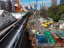 Rinnovamento alla stazione di Ochanomizu fotografia stock libera da diritti