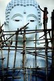 Rinnovamento bianco di immagine di Buddha Fotografie Stock