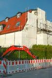 Rinnovamento della facciata della costruzione Fotografia Stock Libera da Diritti