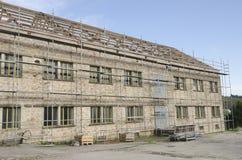 Rinnovamento di vecchia costruzione Immagine Stock