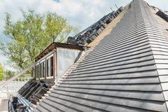 Rinnovamento e riparazione della costruzione della Camera Fotografia Stock Libera da Diritti