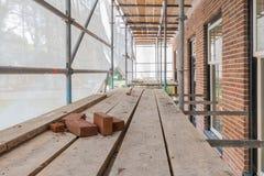 Rinnovamento e riparazione della costruzione della Camera Immagini Stock Libere da Diritti