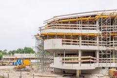 Rinnovamento e riparazione della costruzione della Camera Fotografia Stock