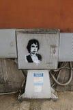 Rino Gaetano stencil Stock Photo