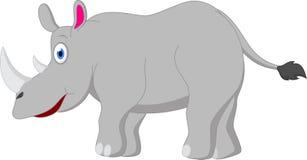 Rinoceronte de la historieta Fotos de archivo