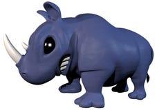 Rinoceronte del juguete Imagen de archivo libre de regalías