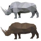 Rinoceronte poligonal abstracto libre illustration