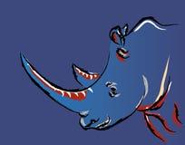 rinoceros royalty-vrije illustratie