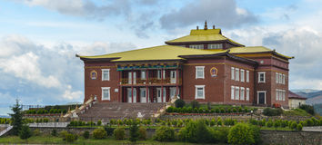 Rinpoche Bagsha Datsan Monastery in Ulan-Ude, Russia Stock Image