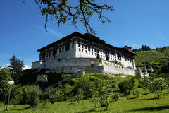 Rinpung Dzong in Bhutan Royalty Free Stock Photos