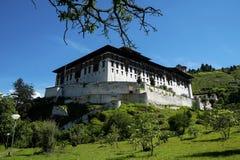 Rinpung Dzong em Butão Fotos de Stock Royalty Free