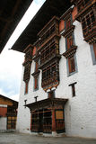 Rinpung Dzong - Paro - Бутан (8) стоковая фотография rf