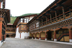 (2) Rinpung Dzong, Paro, Bhutan - Obraz Stock