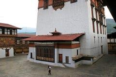 Rinpung Dzong - Paro - Bhutan (3) Royaltyfri Bild