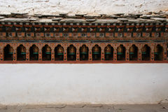 Rinpung Dzong - Paro - il Bhutan (9) Fotografia Stock