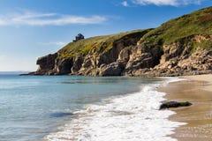 Rinsey Beach Cornwall England Stock Image