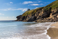 Rinsey Beach Cornwall England Stock Images