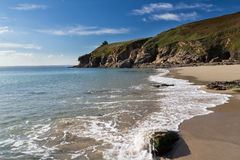 Rinsey Beach Cornwall England Stock Photo