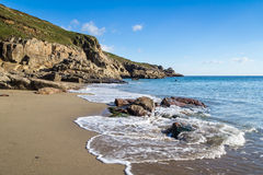 Rinsey Beach Cornwall England Stock Photos