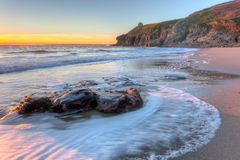 Rinsey Beach Porthcew Cornwall Stock Photography