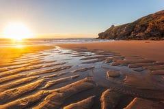 Rinsey Beach Porthcew Cornwall Royalty Free Stock Photos