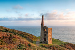 Rinsey Head in Cornwall Stock Photo