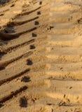Rintracci la sabbia Fotografia Stock