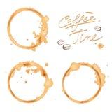Rintraccia il caffè Fotografie Stock