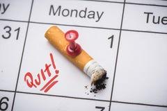 Rinunci l'immagine contro il fumo resa Smoking Immagine Stock Libera da Diritti