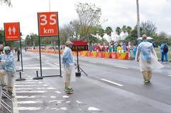 Rio2016的奥林匹克组织者 免版税库存图片