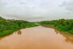 Rio Fotografia de Stock