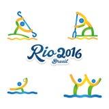 Rio 2016 Fotografia Stock