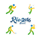 Rio 2016 Foto de Stock Royalty Free