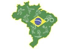 Rio 2016 vector illustratie