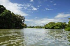 Rio abajo Fotografía de archivo libre de regalías