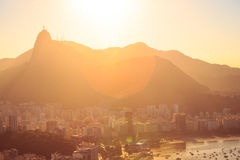 Rio abstract evening view Stock Photography